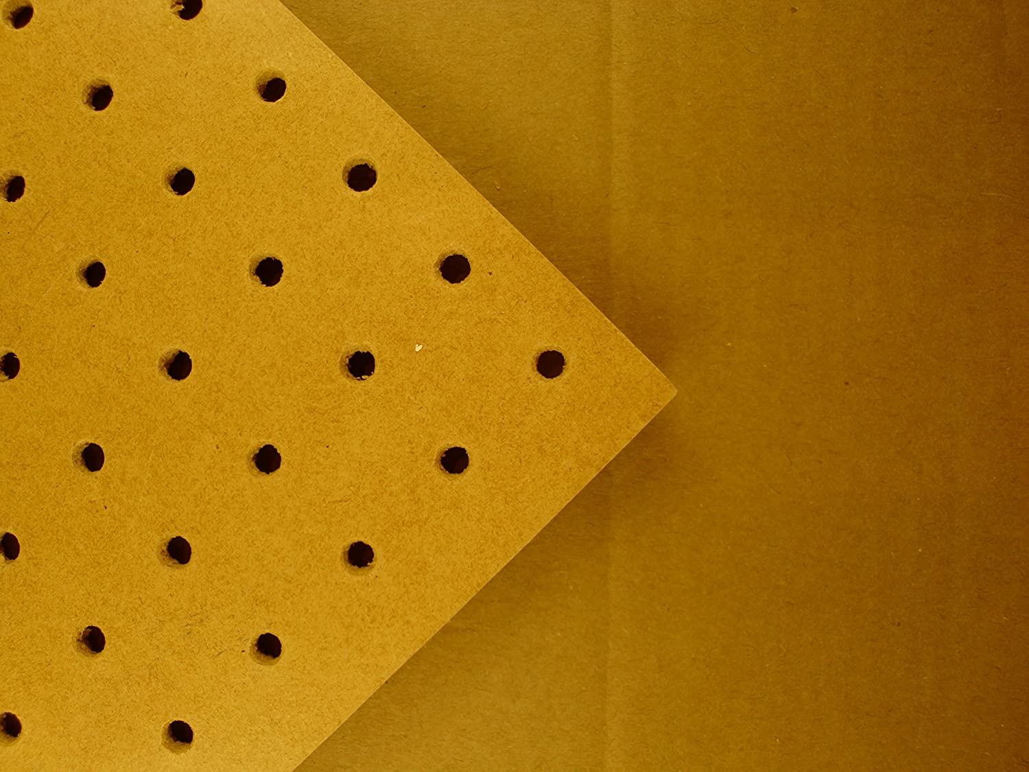 6mm Pegboard 1200mm x 300mm 25mm Hole centres masons