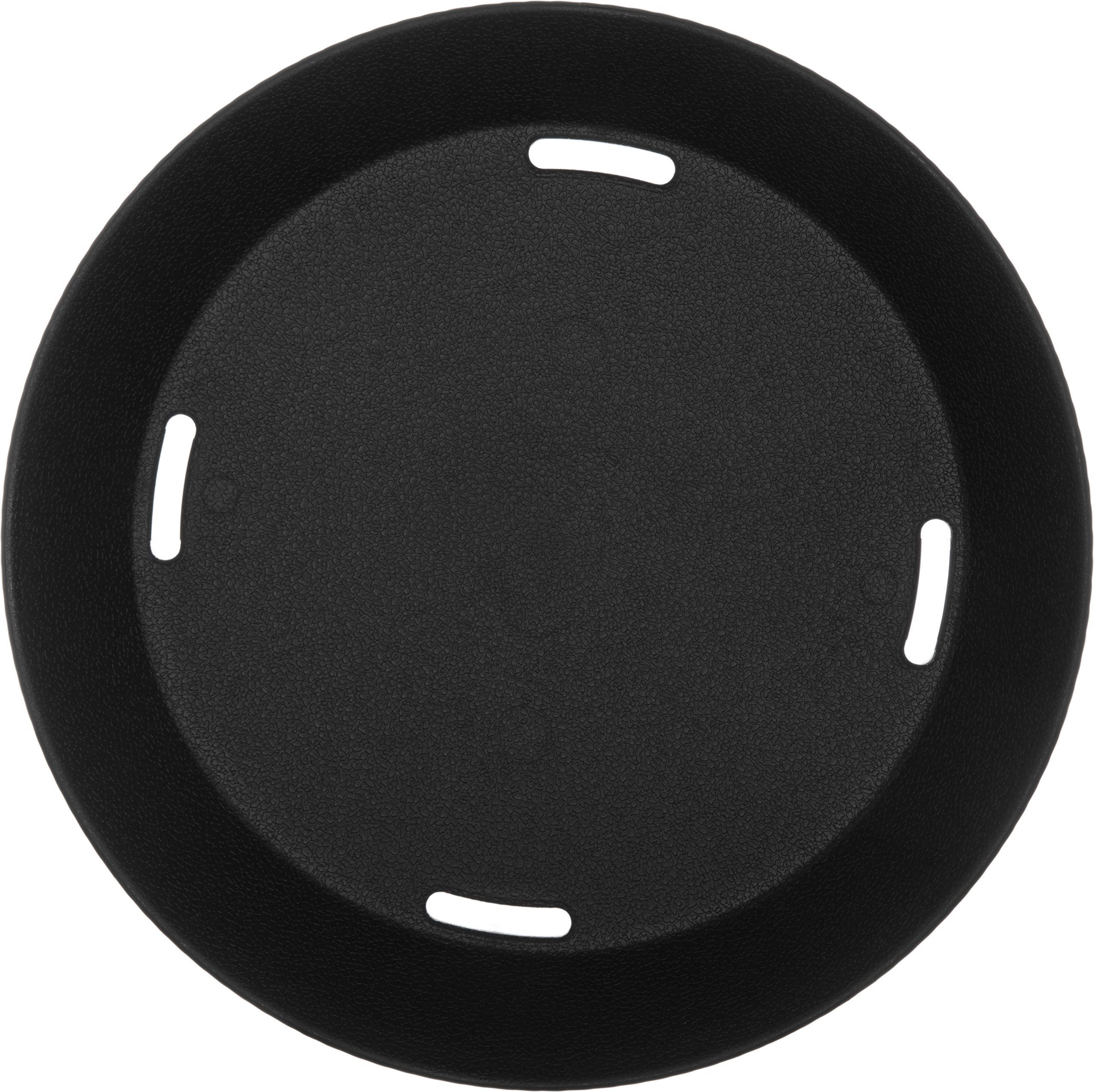 Carlisle 652803 WeaveWear Round Serving Basket, 9'', Black (Pack of 12) by Carlisle (Image #4)