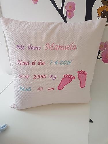 Cojín de nacimiento: Amazon.es: Handmade