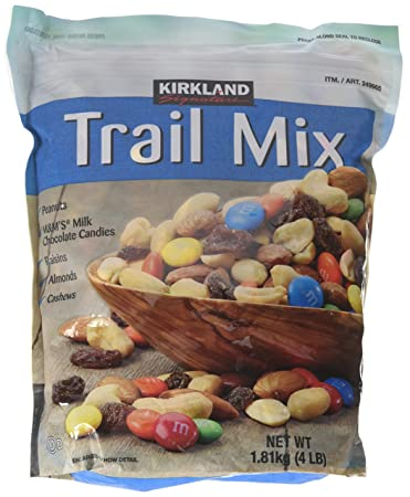 Kirkland Signature Trail Mix 4 Pounds Each Pack Of 2 Amazoncom