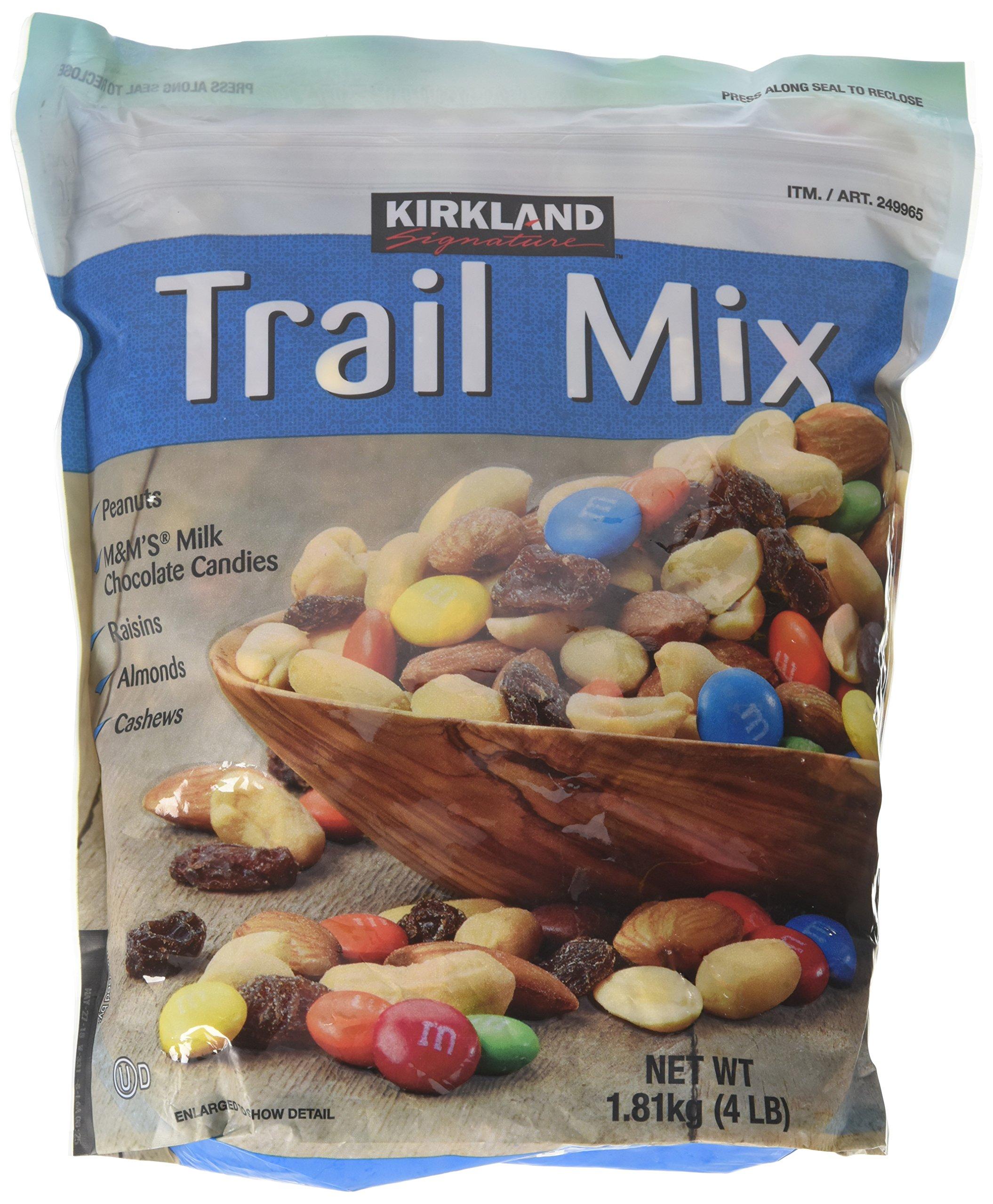 Kirkland Signature Trail Mix 4 Pounds Each (Pack of 2)