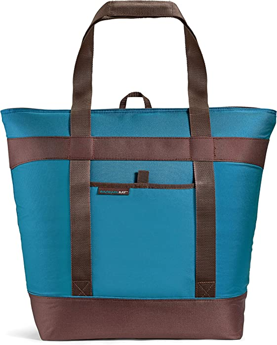 Rachael Ray Insulated Bag Jumbo Chillout Tote, XL, Marine Blue
