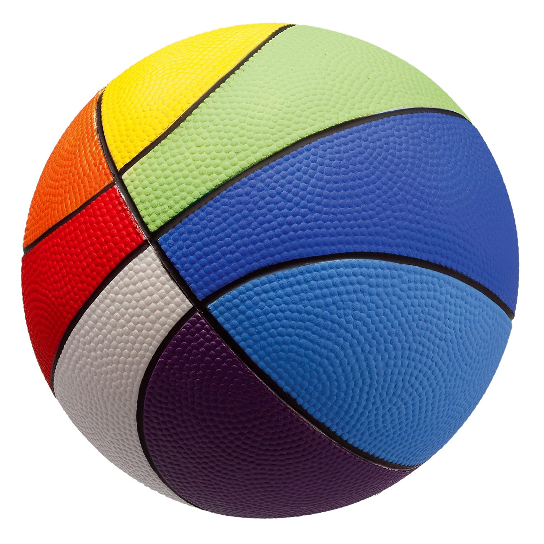 Sport-Thieme PU Schaumstoff-Basketball   Sehr gut Springender Softball   Farben: Orange o. Rainbow   Durchmesser 200 mm   290-300 g   Schaumstoff mit PU-Beschichtung   Markenqualität
