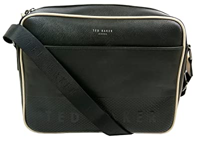 Image Unavailable. Image not available for. Colour  Ted Baker Jaykay  Embossed Dispatch Bag Black 8abc2ba2d1988