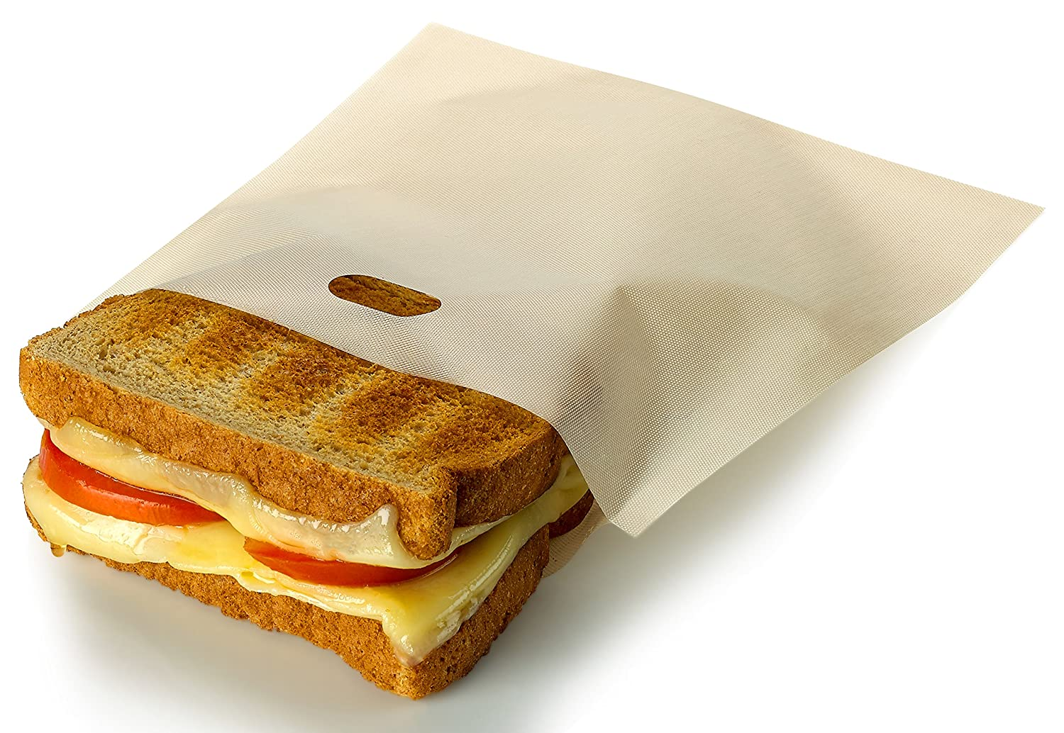 RL Treats Non Stick Reusable Toaster Bags for Sandwich and Grilling, Pack of 3 SYNCHKG094883