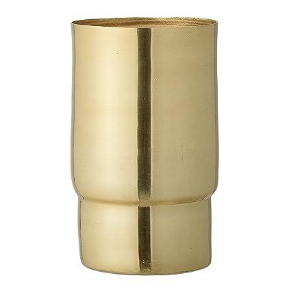 Amazon Bloomingville Aluminum Vase Gold Finish Home Kitchen