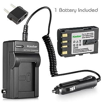 Amazon.com: Batería y Cargador para JVC GR-DVL805U, GR ...
