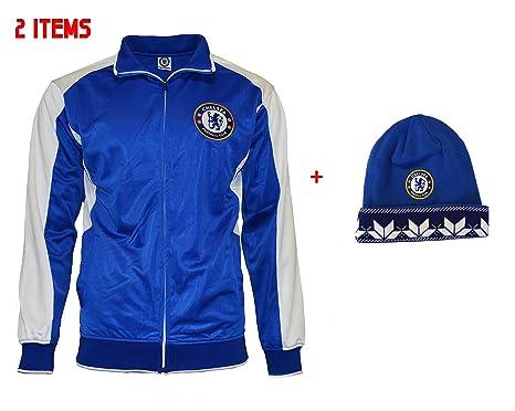 0dd08bd4b Chelsea Fc Jacket Track Soccer Adult Sizes Soccer Football Official  Merchandise (S