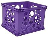 Storex Mini Crate, 9 x 7.75 x 6 Inches, School