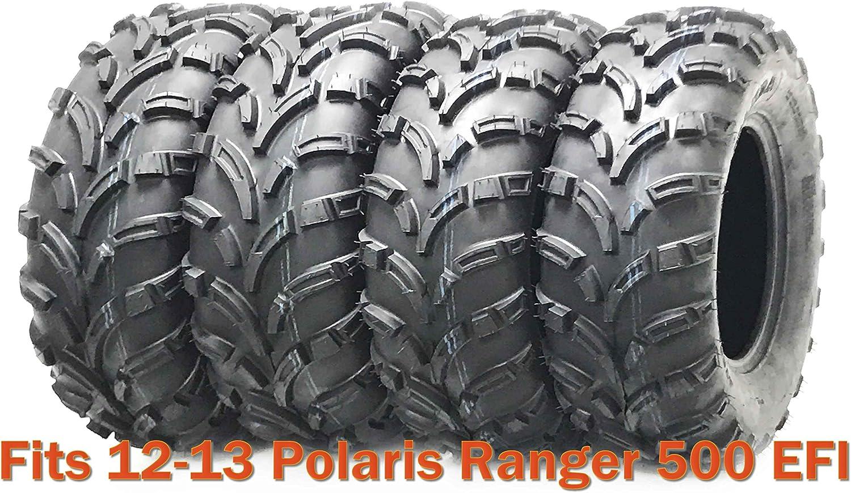 "FOUR ITP MUDLITE 6 PLY 25/"" AT ATV UTV TIRES SET OF 4 25x8-12 front 25x11-10 rear"