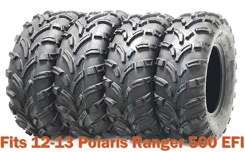 Set 4 WANDA ATV tires 25x8-12 /& 25x11-12 for 12-13 Polaris Ranger 500 EFI