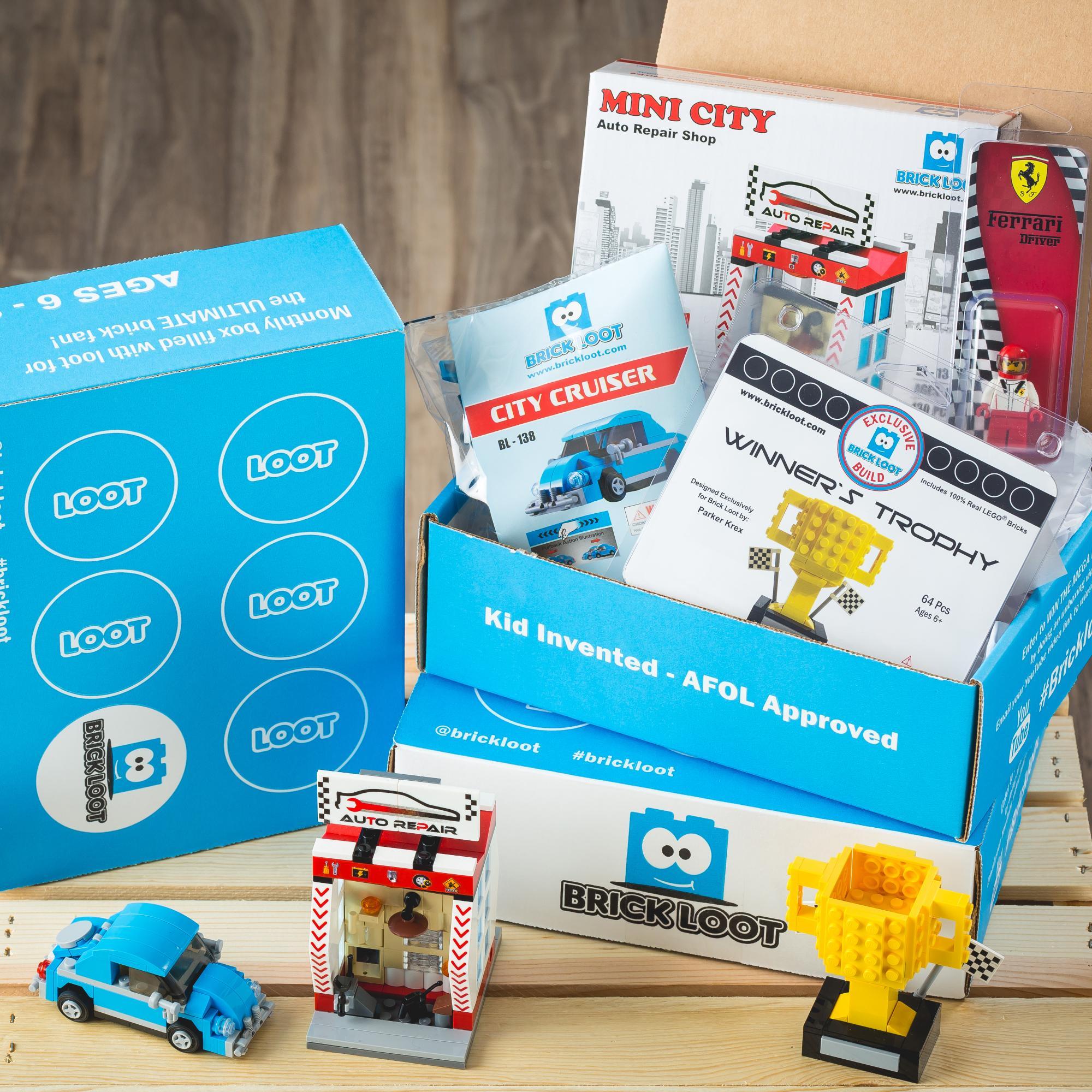 Brick Loot Subscription Box