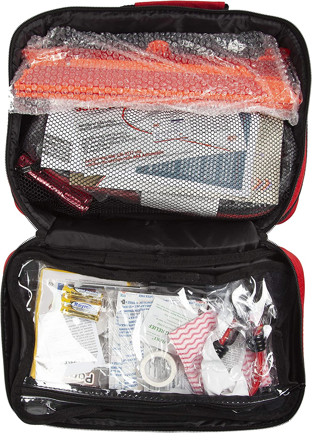 Emergency Traveler Kit AAA Approved Roadside Kit 103 Pieces