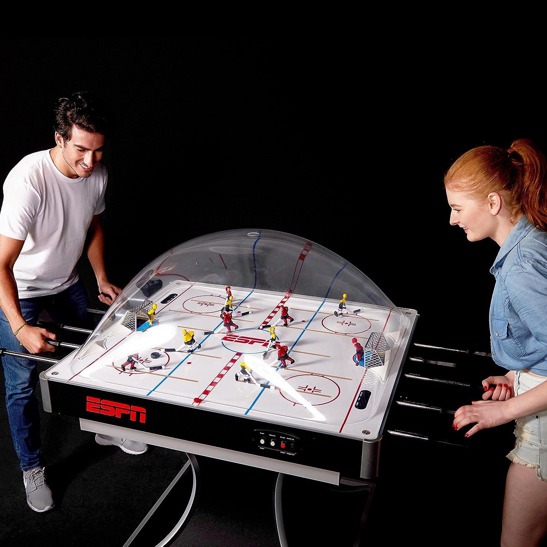 Amazon.com: ESPN 1614205 Original Electronic Dome Hockey Table ...