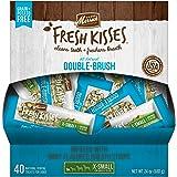 Merrick Fresh Kisses Coconut Oil + Botanicals Extra Small Brush Dental Dog Treat - Single Serve Box (40 ct)