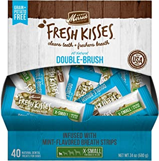 product image for Merrick Fresh Kisses Extra Small Oral Care Dental Dog Treats; for Dogs 5-15 lbs