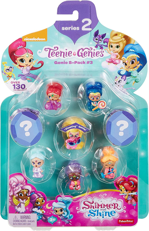 Series 3 Genie 8-Pack #3 Teenie Genies Fisher-Price Nickelodeon Shimmer /& Shine