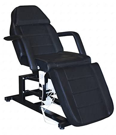 electric facial chair massage chair with three 3 motor black