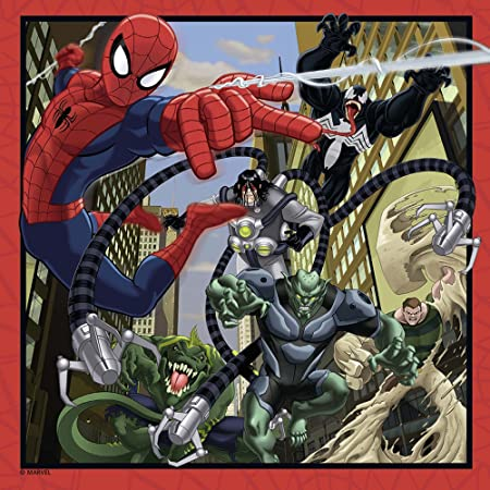 Ultimate Spider-Man Spiderman Pack Memory y Puzzle, 37.1 x 27.9 x 6.1 (Ravensburger 07359 7)