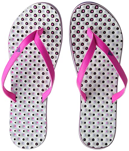 big sale fe80e 88437 Adidas Eezay Dots W, Ciabatte Donna, Rosa (Shock Pink S16collegiate Royal