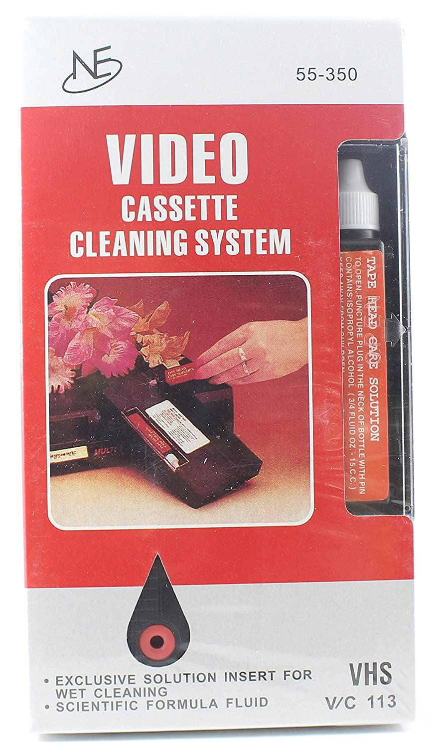 Video Cassette Cleaning System VHS Northeast Wholesale