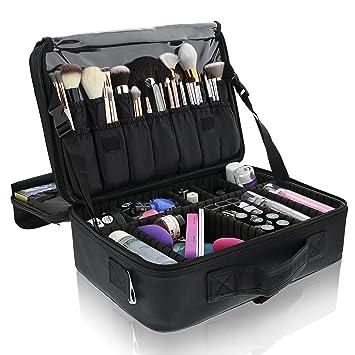 Primalour Large Makeup Train Case Professional Travel Bag For Women Cosmetic fc20c271d84ad