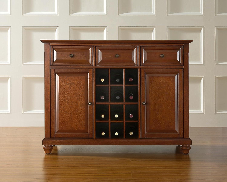 Amazoncom Crosley Furniture Cambridge Wine Buffet