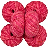 Vardhman Acrylic Multi Strawberry No.286 Soft Wool (Pack of 6)