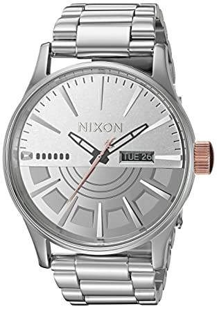 0aee93ac3d9 Nixon Men s Star Wars Phasma Japanese-Quartz Watch with Stainless-Steel  Strap