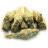 White Sage Smudge Stick 10 Pack - 4 Inch - Organic - by EarthWise Aromatics