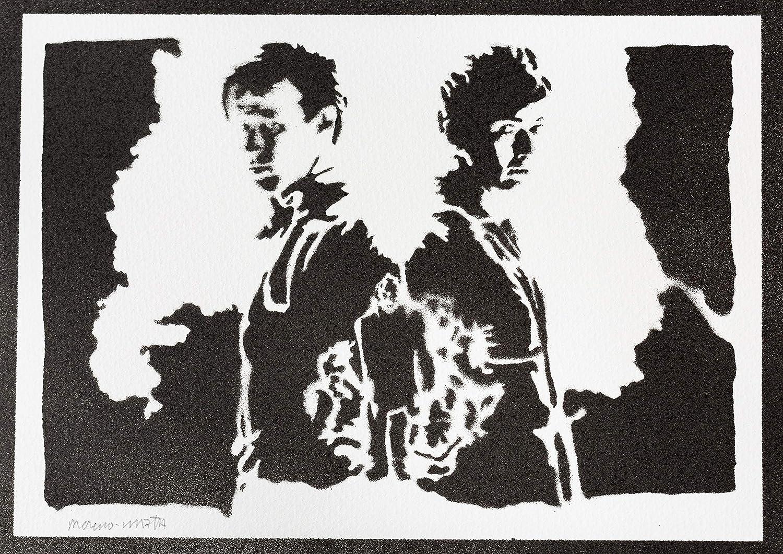 Poster Doctor Who Handmade Graffiti Street Art Artwork