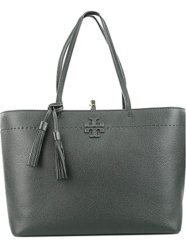 6c5551a9f24b Amazon.com  Tory Burch McGraw Ladies Medium Leather Tote Handbag 42200018  Tory  Burch  Shoes