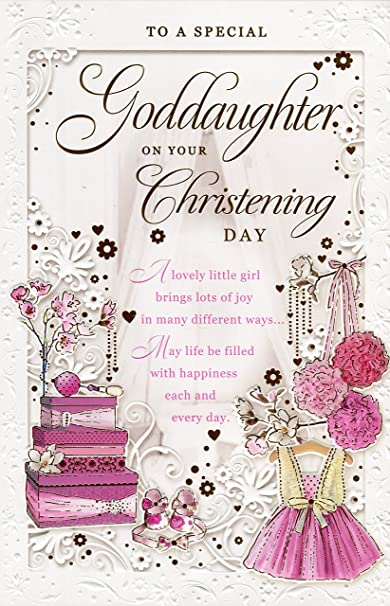 to A Special Grandson Christening Card ~ Hoping That Your Christening Day is Filled with Happiness and Love
