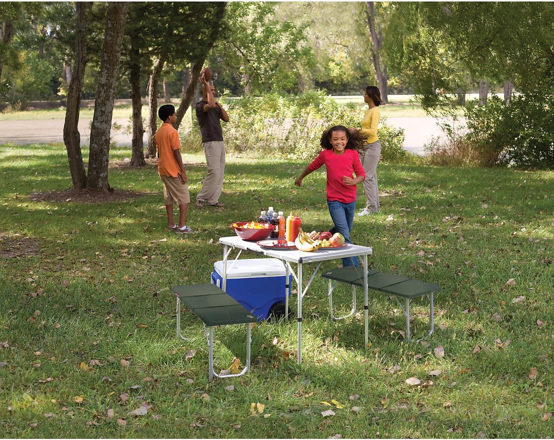 Coleman 205584 Mesa de Camping, Campingtisch Pack-Away(TM) Table ...