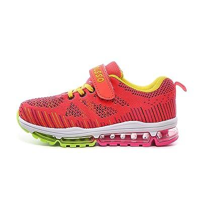 1563b7e990bcd MXshoes Sneaker Kinder Laufschuhe Jungen Hallenschuhe Mädchen Turnschuhe  Outdoor Leicht Sportart Schuhe für Unisex-Kinder