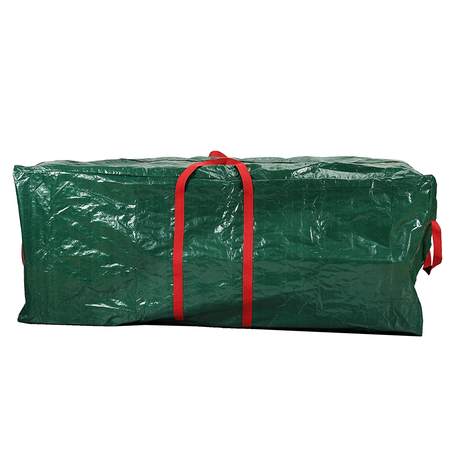 Heavy Duty Waterproof Holiday Tree Storage Bag Wreath Christmas Tree Decoration Accessories Storage Bag Tote Case to fit Artificial Trees Up to 59 Inch HFM09-C Hersent