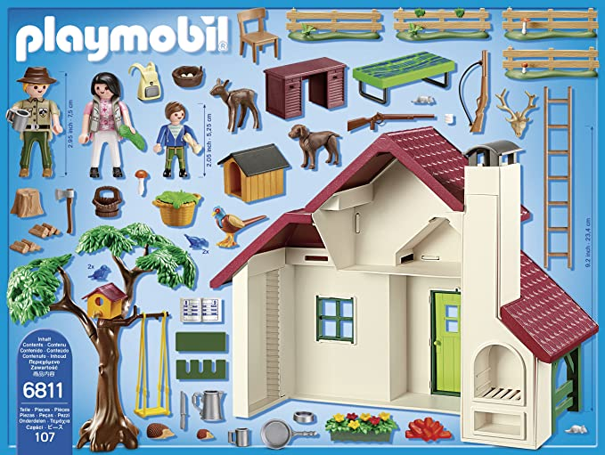 Playmobil 6811 Wildlife Forest Ranger S House