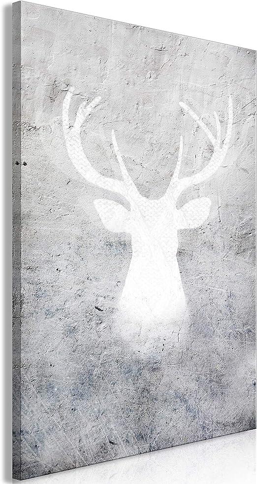 abstrakte Kunst Hirsch Geweih Leinwand Ölgemälde Wand Kunst Poster Dekor