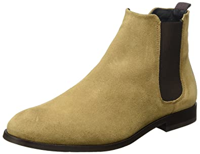 Cast Chelsea Suede Classic, Bottes Chelsea Homme - Marron - Braun (Biscotto)Royal Republiq