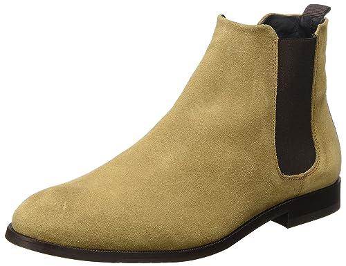 210f4b2e9dd Royal RepubliQ Men's CAST Chelsea Suede Classic Boots, Braun (Biscotto) 9  UK: Amazon.co.uk: Shoes & Bags