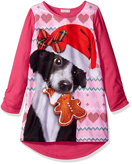 6a2c4719dd Komar Kids Girls Big Girls Sweater Dog Gown  Amazon.ca  Clothing    Accessories
