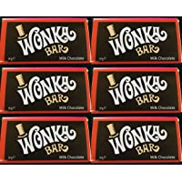 Wonka Bar - 6 x 50g Bars