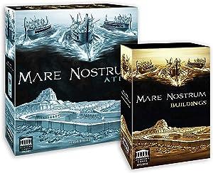 Academy Games Mare Nostrum Atlas Expansion w/Buildings Pack Bundle