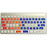 Learn to Type Keyboard Stickers Keyboard Genius Touch Typing for Kids and Adults Typing Instructor Improves Typing Speed…