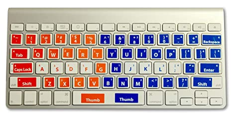 Learn to Type Keyboard Stickers Keyboard Genius Touch Typing for Kids and  Adults Typing Instructor Improves Typing Speed and Accuracy Easily Applied  ...