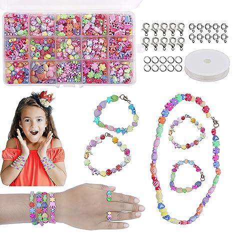 Perlen Zum Auffadeln Diy Perlen Set Armbander Selber Machen