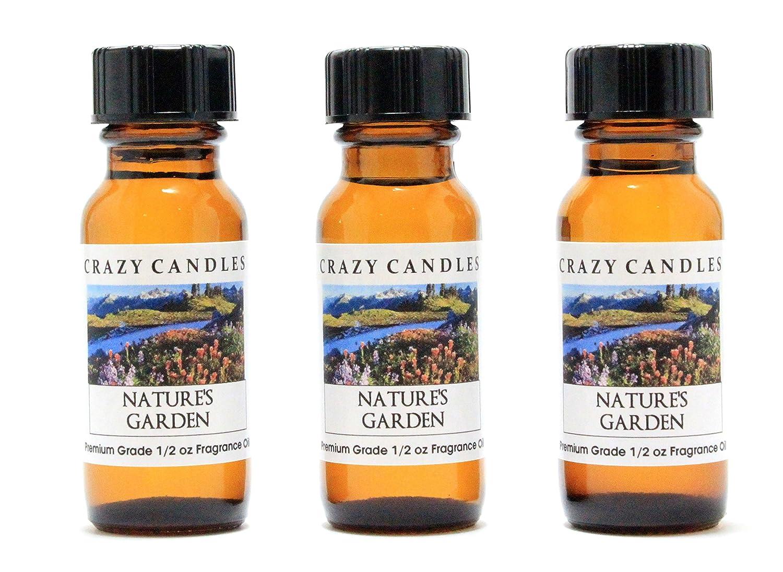 Natures Garden Vegatable And Floral 3 Bottles 1 2 Fl Oz Each