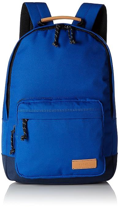 Fossil Estate, Sacs à dos homme, Blau (Blue), 12.7x43.1x30.5 cm (B x H T)