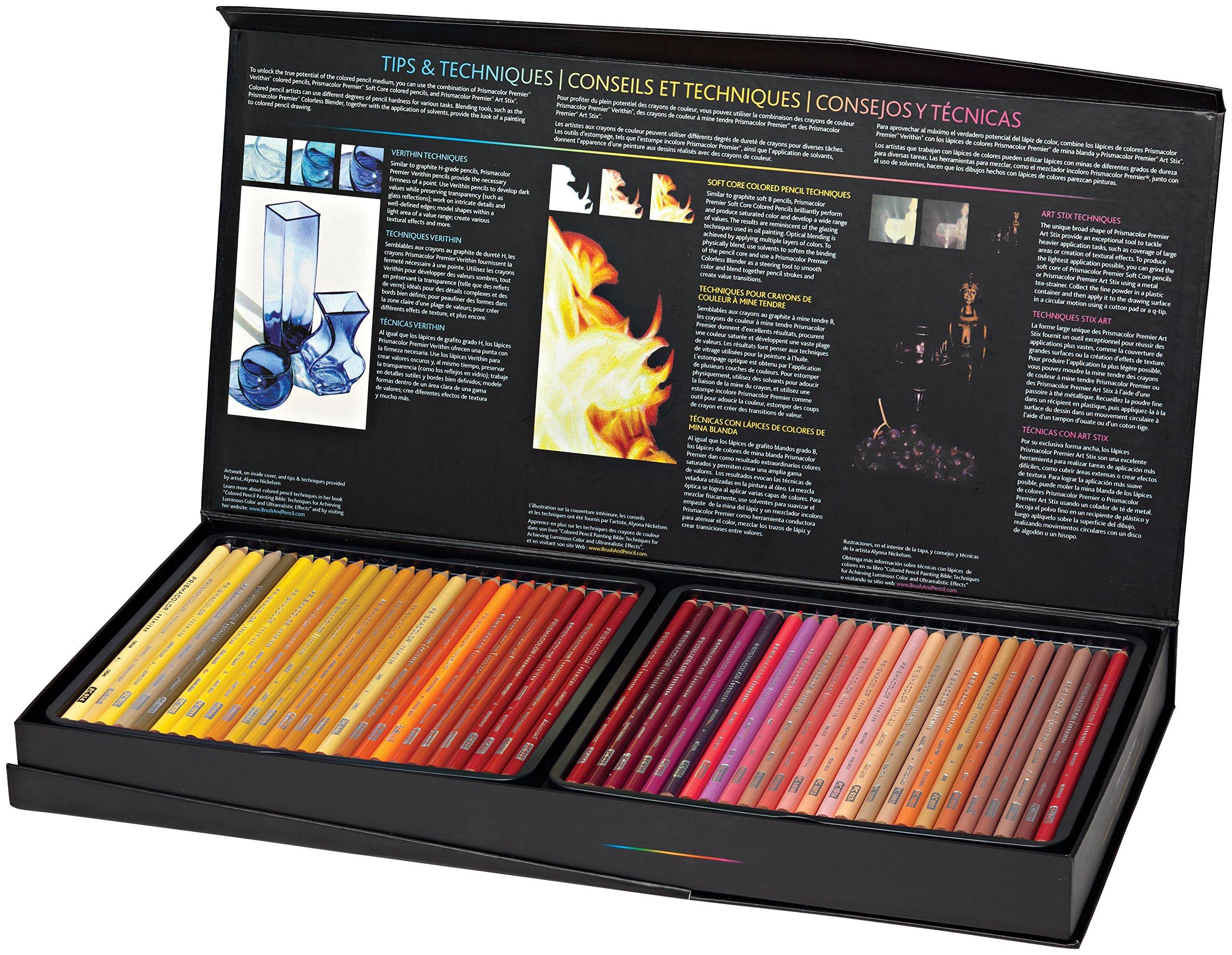 Prismacolor Premier Colored Pencils, Soft Core, 150 Pack ...