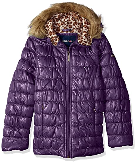 Limited Too Toddler Girls' Quilted Iridescent Puffer, Petunia, 3T